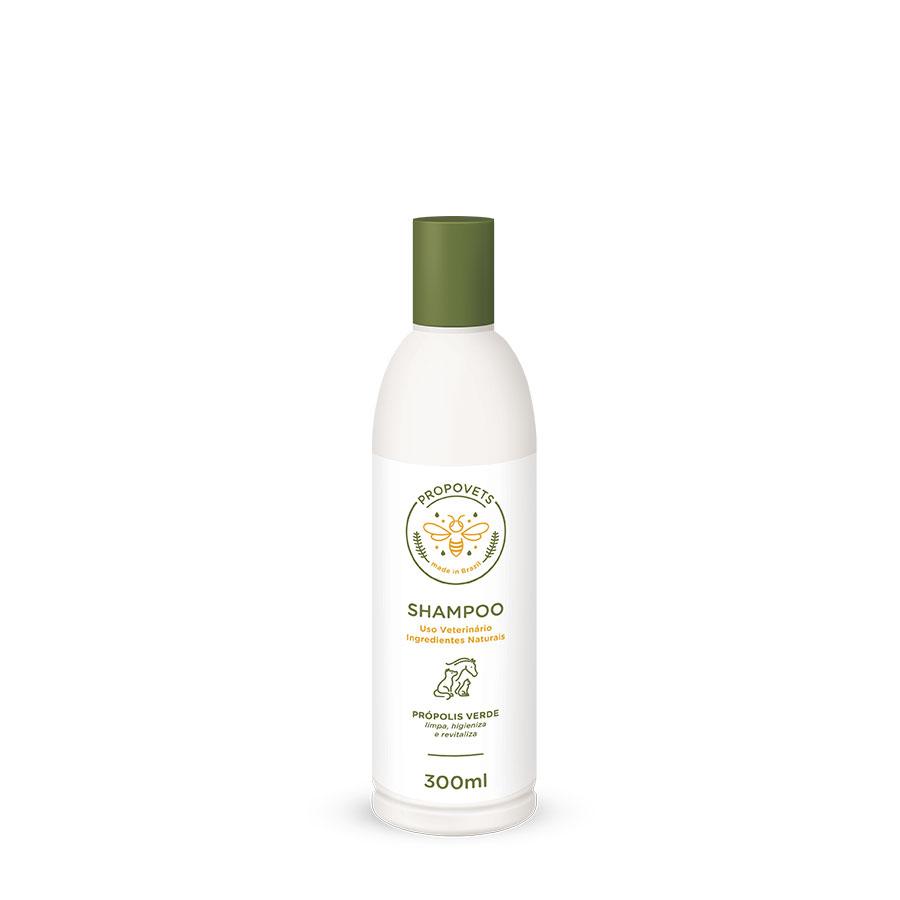 Shampoo Natural para Animais com própolis verde