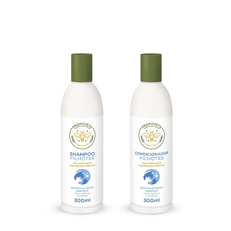 Promoção Shampoo + Condicionador Filhotes PROPOVETS